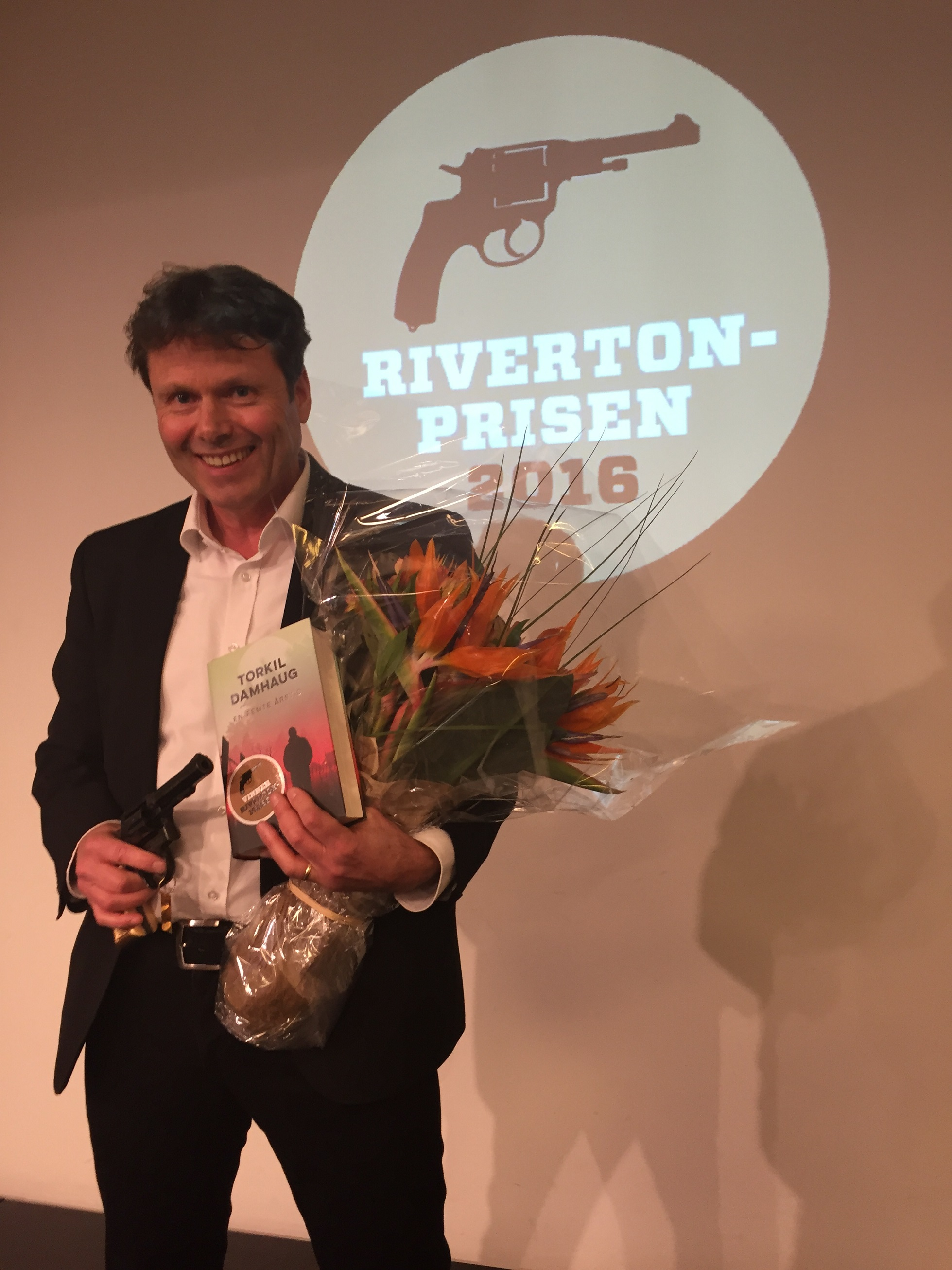 Rivertonprisen for 2016 til Torkil Damhaug